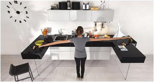 Рациональное использование рабочего пространства на кухне. Советы опытных дизайнеров салона Edelwood